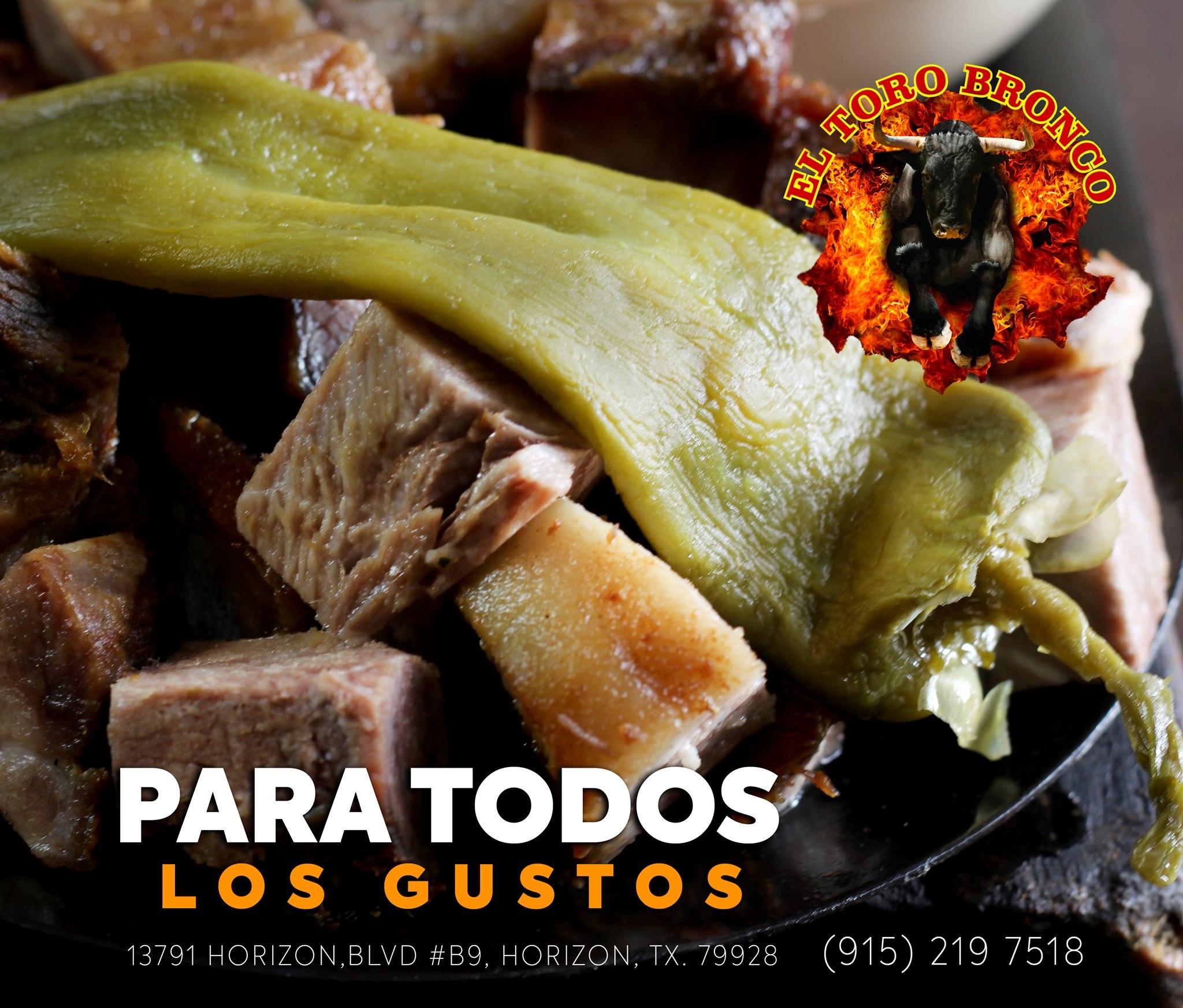 El Toro Bronco 3825 N Piedras St #3921, El Paso