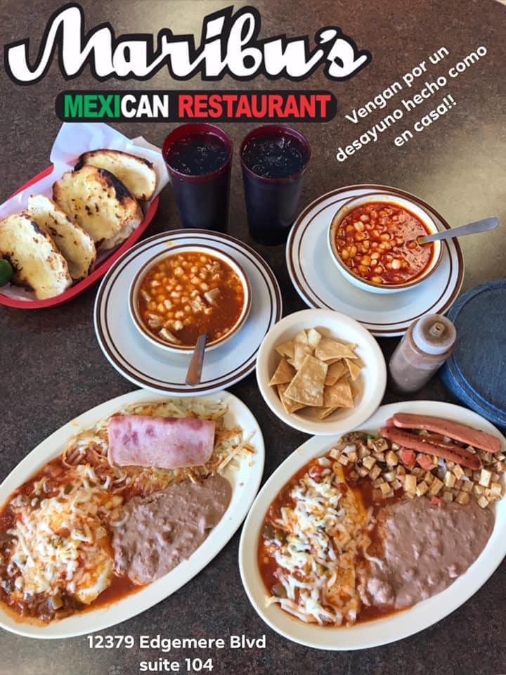 Maribu's Mexican Restaurant 12379 Edgemere Blvd, El Paso