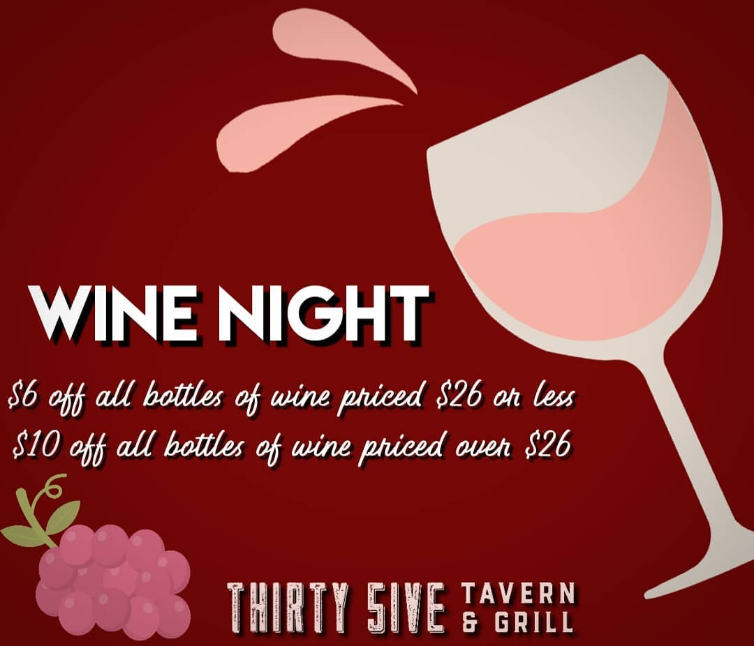 Thirty 5ive Tavern & Grill 10420 Montwood Dr, El Paso