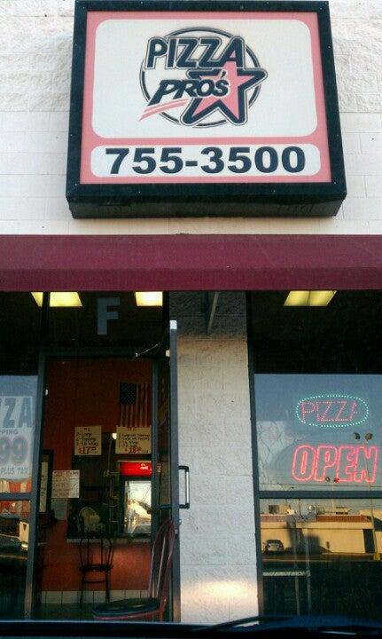Pizza Pros 10025 Dyer St, El Paso
