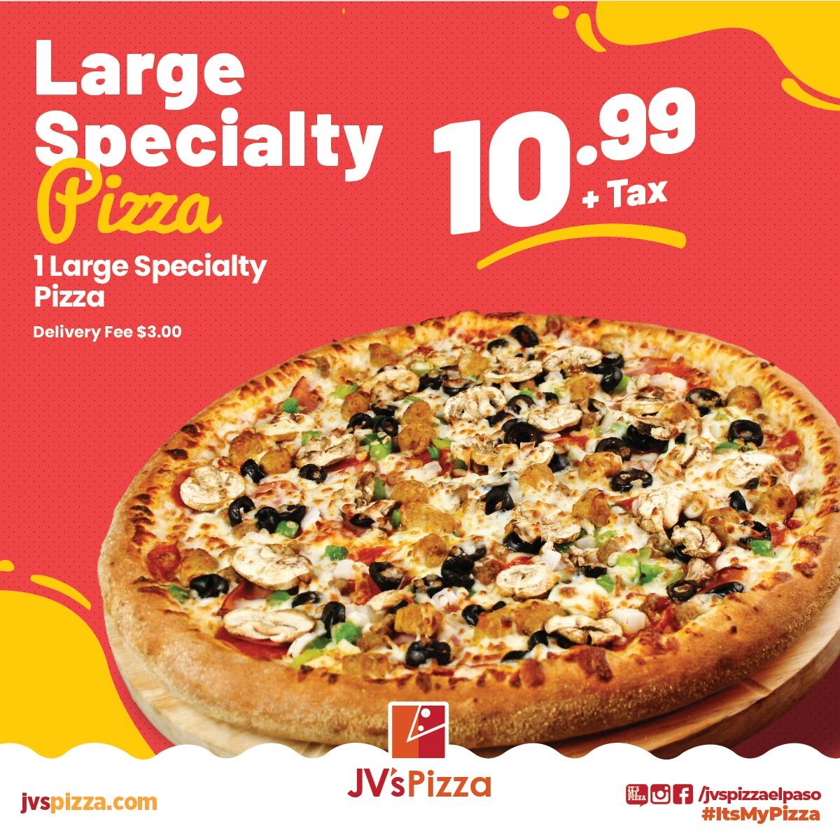 JV`s Pizza 2000 Lee Trevino Dr A, El Paso