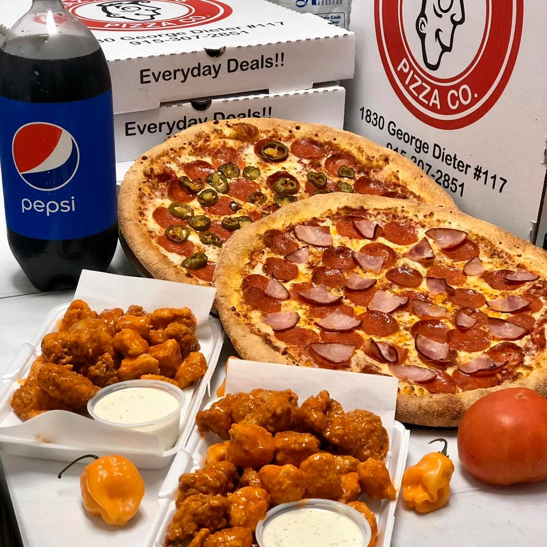 Crazy Daves Pizza 1830 George Dieter Dr #117, El Paso