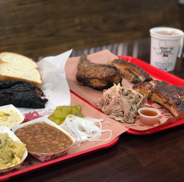 Desert Oak Barbecue 1320 N Zaragoza Rd #105, El Paso