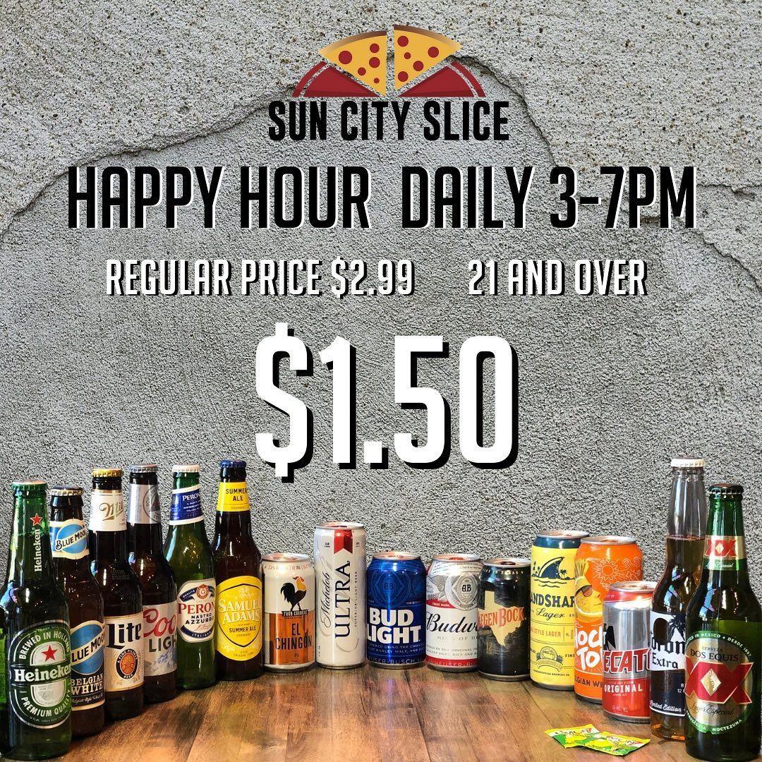 Sun City Slice Pizza (Eastside) 1505 George Dieter Dr #106, El Paso