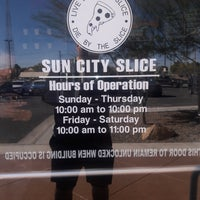 Sun City Slice Pizza (Eastside)