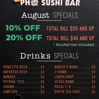 King Pho & Sushi Bar
