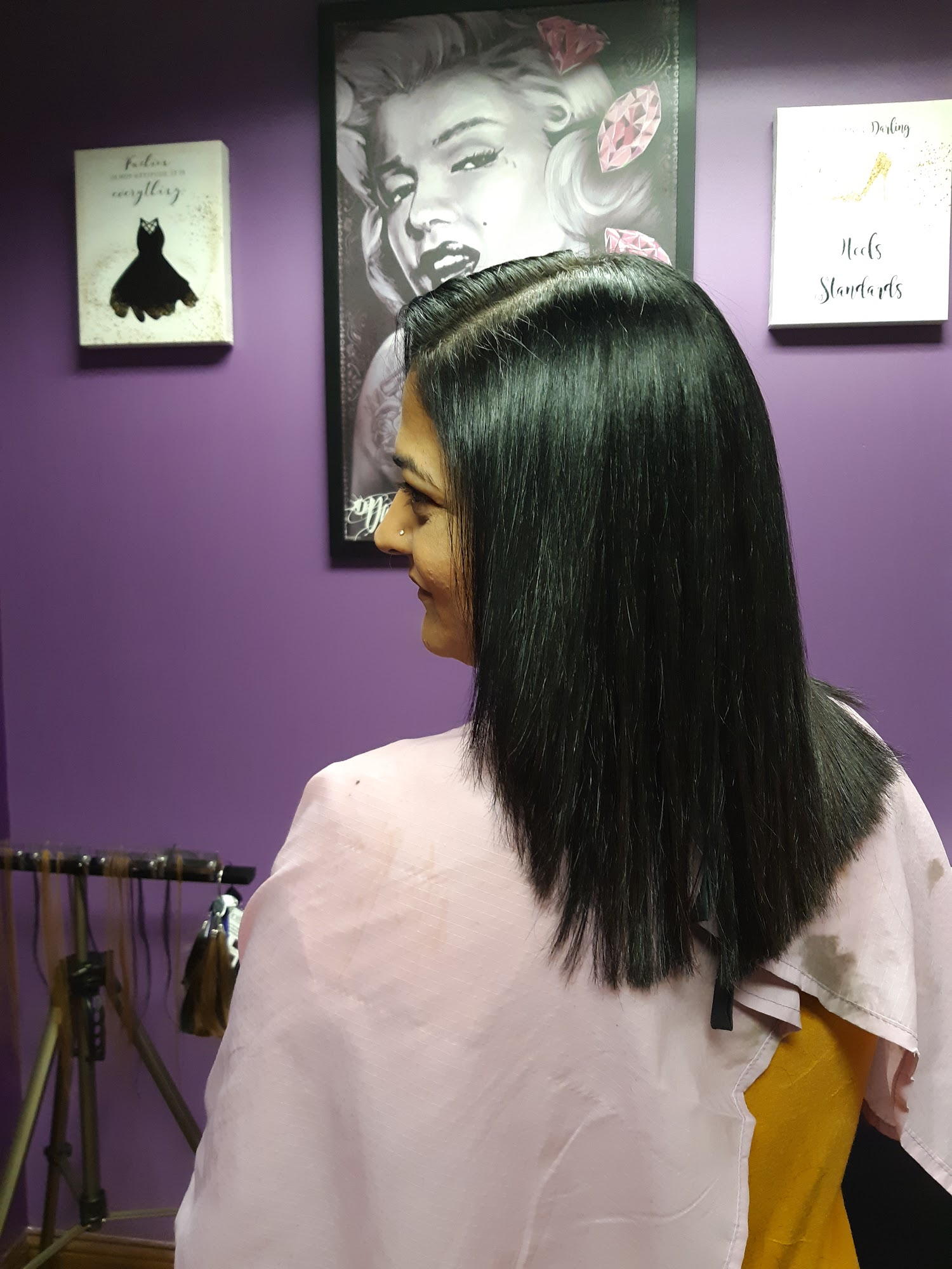 Crown Of GLORY HAIR SALON ] 9425 N MacArthur Blvd #6, Irving