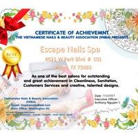 Escape Nails Spa