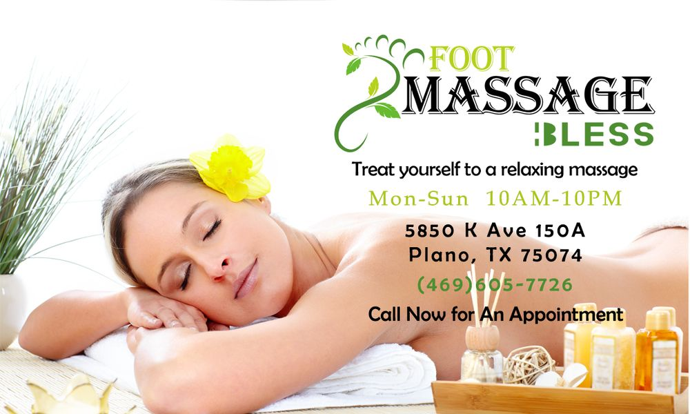 Massage Bless 5850 K Ave #150A, Plano