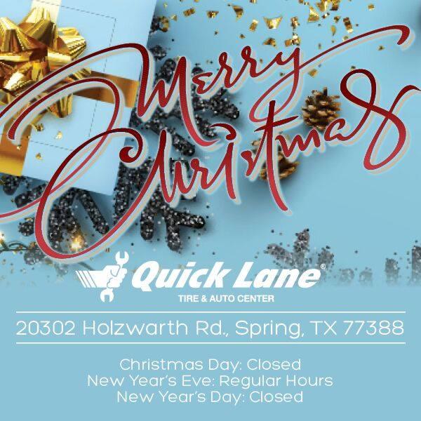 Quick Lane 20302 Holzwarth Rd, Spring