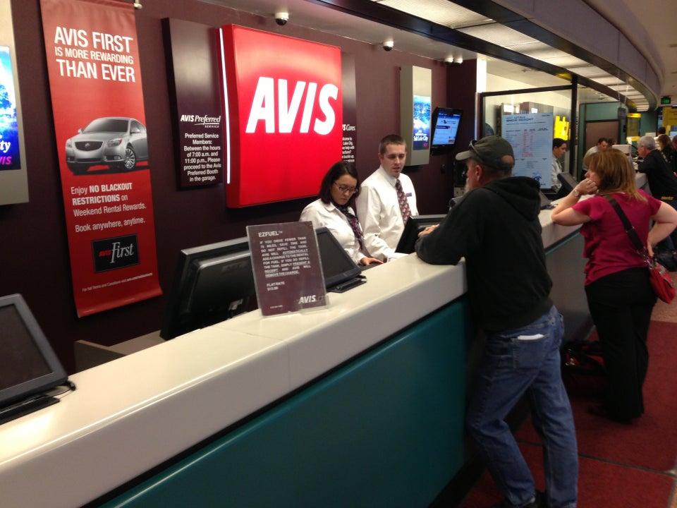Avis Rent A Car Salt Lake City