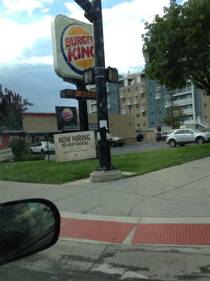 Burger King Salt Lake City