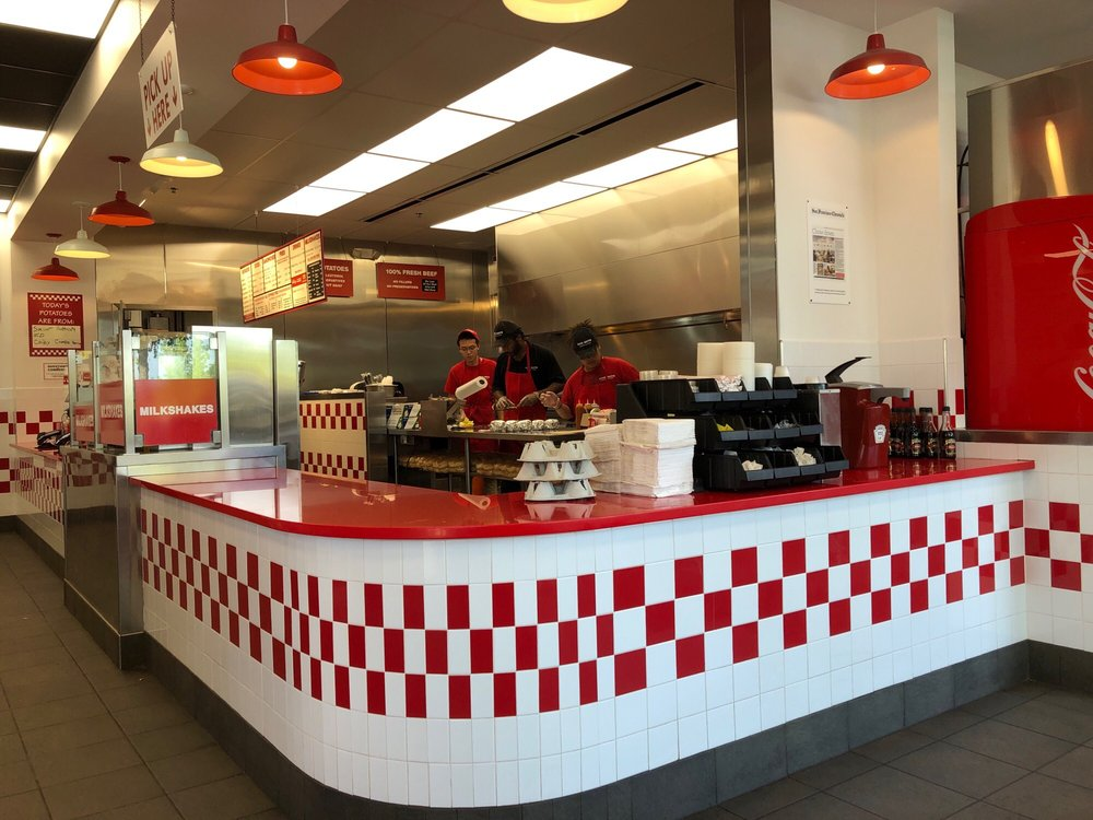 Five Guys 201 Connor Dr, Charlottesville