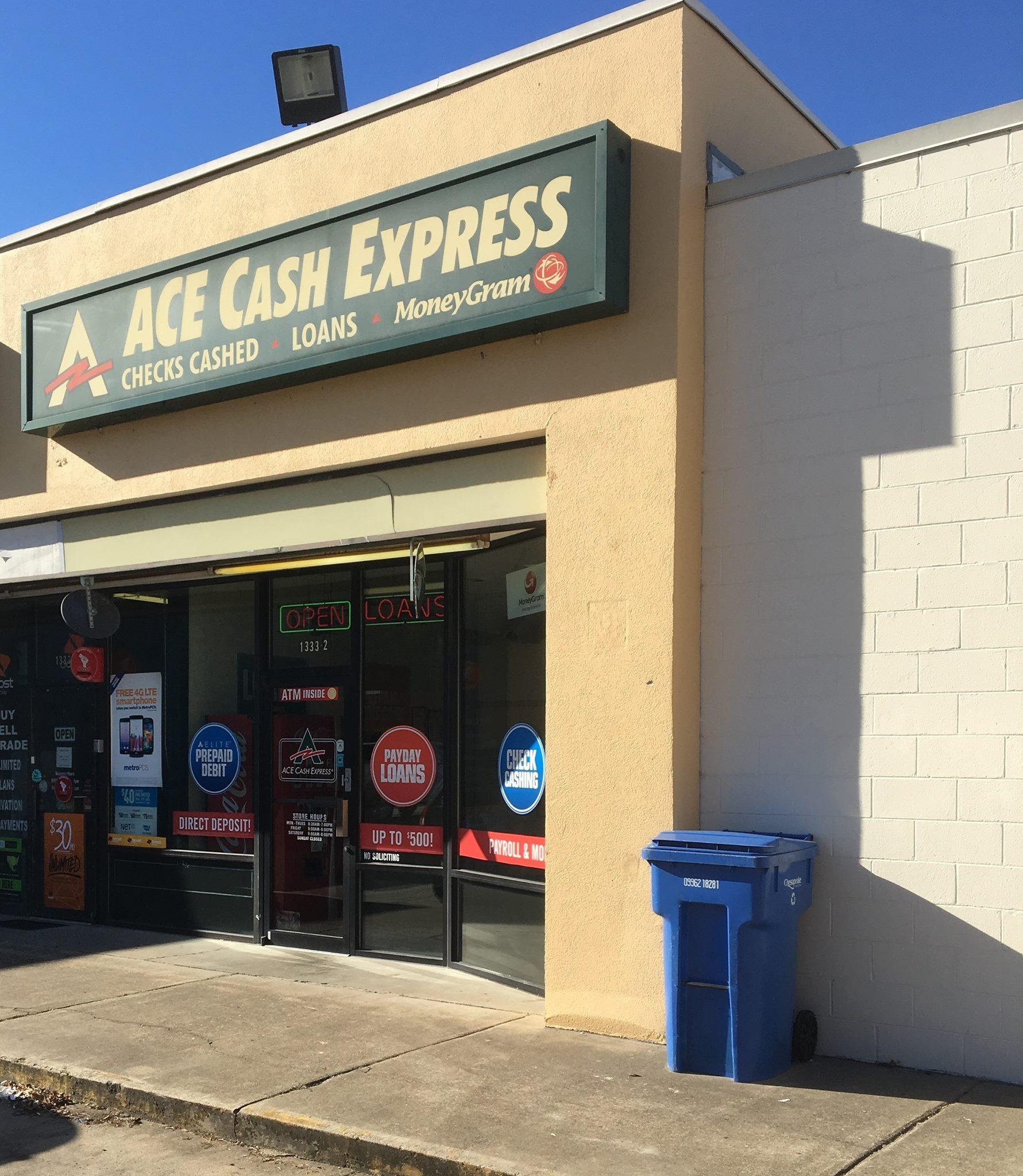 ACE Cash Express 1333 Poindexter St #2, Chesapeake