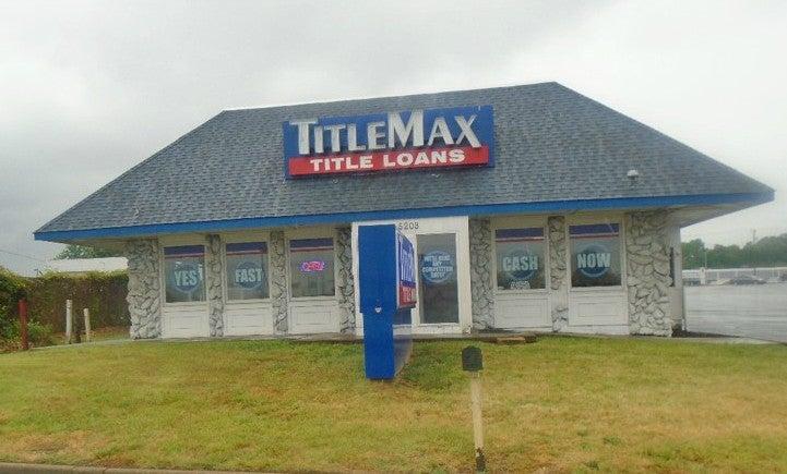 TitleMax Fredericksburg