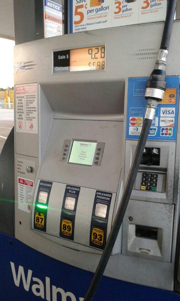 Walmart Gas Station 1800 Carl D. Silver Pkwy, Fredericksburg