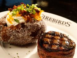 Firebirds Wood Fired Grill (open for indoor dining)