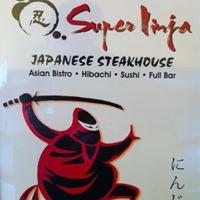 Super Ninja Japanese Steakhouse(Hibachi、Sushi、Bar)