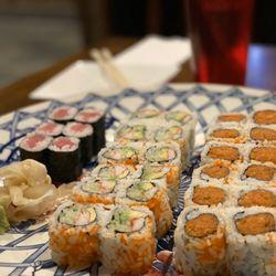 Osaka ramen and sushi