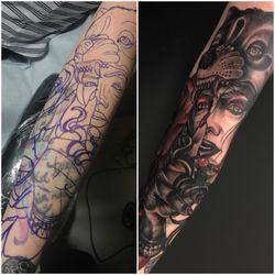 Sacred Daggers Tattoo