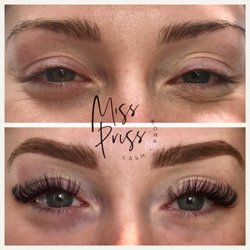 MISS PRISS LASH AND BROW Specializing in Lashes + Brows + Microblading + Education