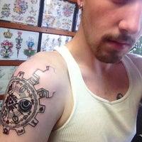 Electric Rose Tattoo