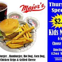 Major's Burgers on 3rd