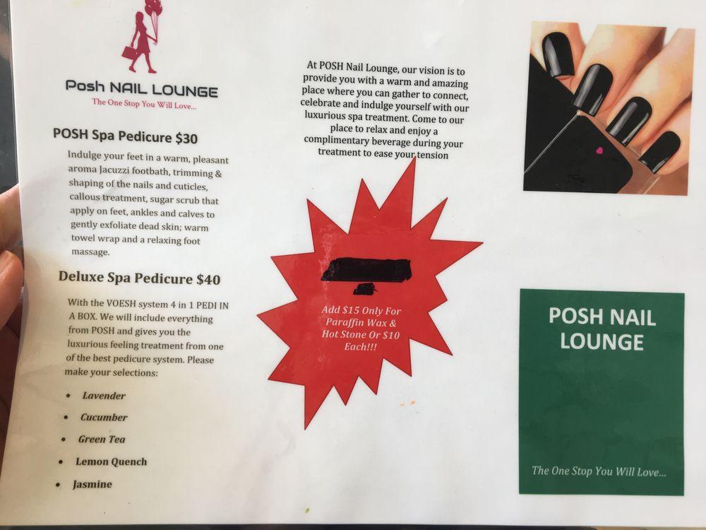 Posh Nail Lounge 204 W Silver Spring Dr, Glendale