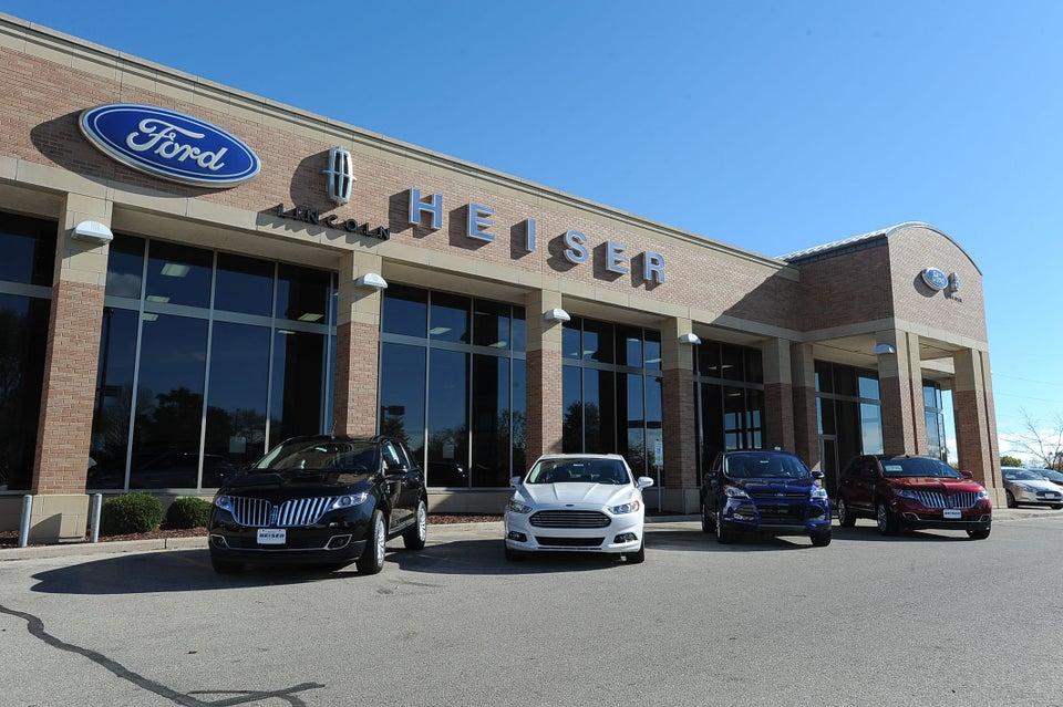 Heiser Ford Lincoln 1700 W Silver Spring Dr, Glendale