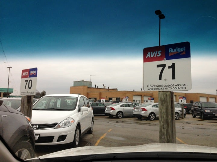 Avis Rent A Car 2077 Airport Drive Austin Straubel Intl Airport, Green Bay