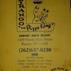DeRango the Pizza King & Premium Chocolates
